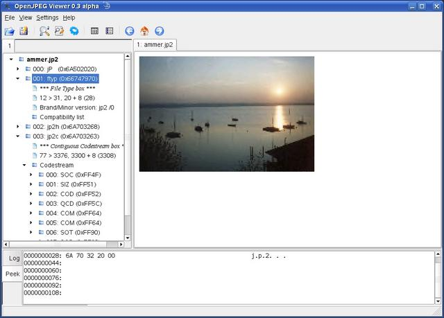 OPJViewer for linux